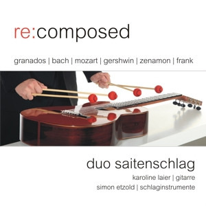 Cover: Duo Saitenschlag - re:composed