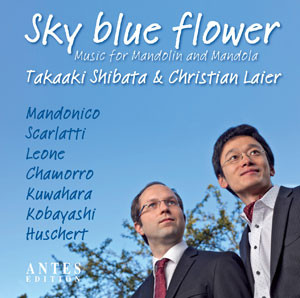 Cover: Duo Takaaki Shibata & Christian Laier - Sky blue flower